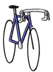 Road Bike embroidery design