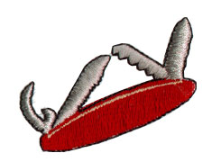 Swiss Army Knife embroidery design
