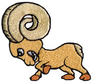 Cartoon Ram Embroidery Designs, Machine Embroidery Designs ... Cute Embroidery