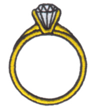 Diamond Ring Embroidery Designs, Machine Embroidery ...