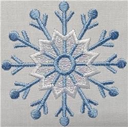 Mylar Snowflake 06 embroidery design