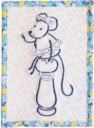 ITH Kitchen Mug Rug embroidery design