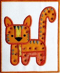 Patchy Hippo Mug Mat embroidery design