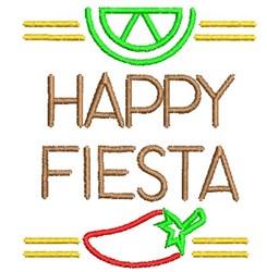 Happy Fiesta embroidery design
