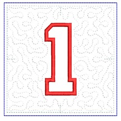 QUILT BLOCK 1 embroidery design