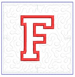 QUILT BLOCK F embroidery design