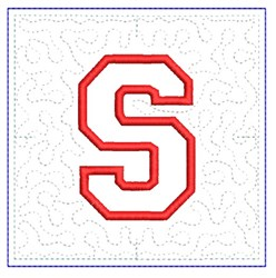 QUILT BLOCK S embroidery design