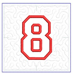 QUILT BLOCK 8 embroidery design