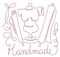 Handmade embroidery design