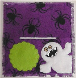 Halloween Bag Topper embroidery design