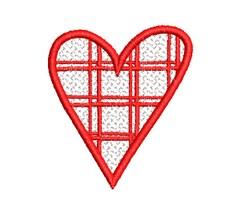 FSL HEART O3 embroidery design