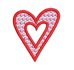 FSL HEART 04 embroidery design