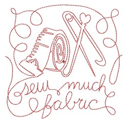 Sew Much Fabric embroidery design