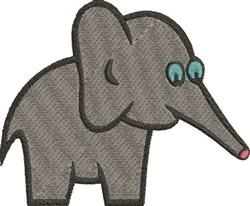 Large Elephant embroidery design