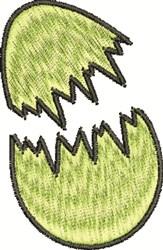 Broken Egg embroidery design