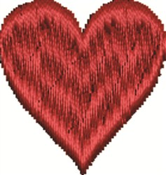 Small Heart embroidery design