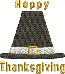 Thanksgiving  Hat embroidery design