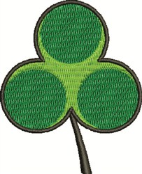 Shamrock embroidery design