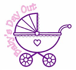 Babys Day Out embroidery design