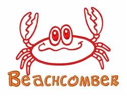 Beachcomber embroidery design