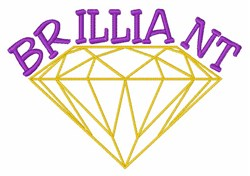 Brilliant Diamond embroidery design