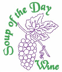Soup Of Day embroidery design