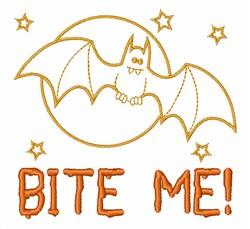 Bite Me embroidery design