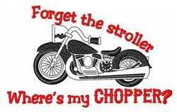 Chopper Stroller embroidery design
