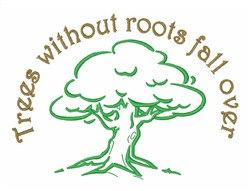 Trees without Roots embroidery design