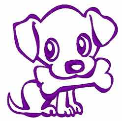 Puppy Pet embroidery design