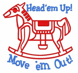 Head em Up embroidery design