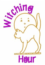 Witching Hour embroidery design