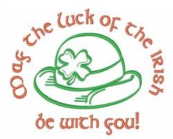 Lucky Irish embroidery design