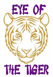 Tiger Eye embroidery design