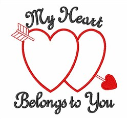 Belongs to You embroidery design