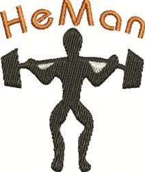 He Man embroidery design