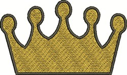 Kings Crown embroidery design