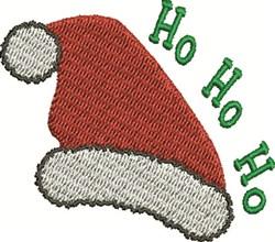 Ho Ho Ho Hat embroidery design