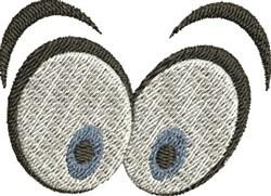 Cartoon Eyes embroidery design