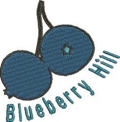 Blueberry Hill embroidery design