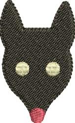 Mole Head embroidery design