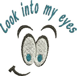 My Eyes embroidery design