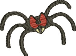 Red Eye Spider embroidery design