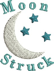 Moon Struck embroidery design