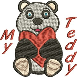 My Teddy embroidery design