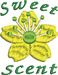 Sweet Scent embroidery design