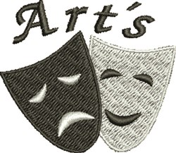 Art Masks embroidery design