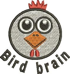 Bird Brain embroidery design