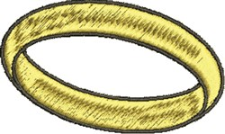 Gold Ring embroidery design
