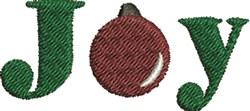 Xmas Joy embroidery design